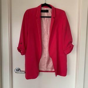 Classic, pink, Zara blazer in great condition.